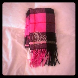 VS Pink and Black Scarf